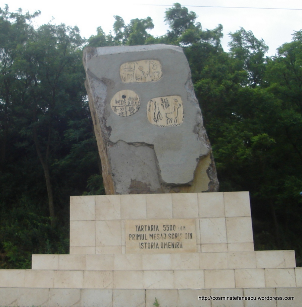 Monumentul de la Tărtăria dezvelit în anul 2003