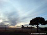 Aeronavă în terminalul aeroportului din Liberal, Kansas
