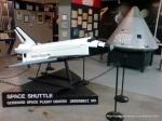 Machetă a unei navete din misiunile spațiale NASA