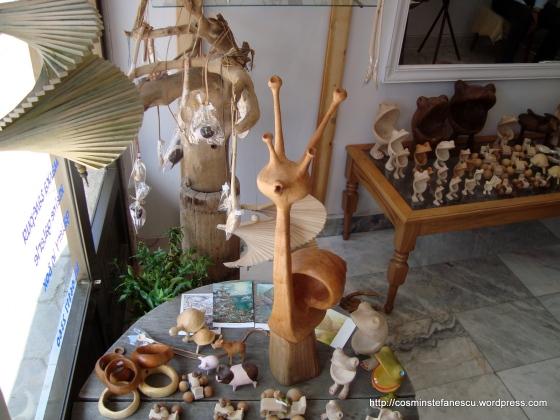 Veliko Tarnovo - Artă naivă într-un magazin de suveniruri