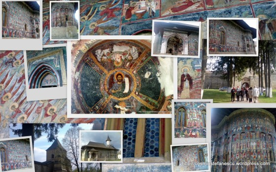 Manastirea Sucevita- Colaj executat in picasa de Cosmin Stefanescu