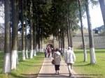 Manastirea Sucevita exterior (4) Intrare in locasul de cult