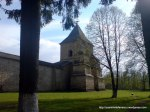 Manastirea Sucevita exterior (7) Zid exterior