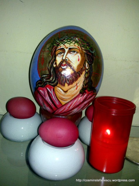 Iisus Cristos -ou pictat - Foto Cosmin Stefanescu