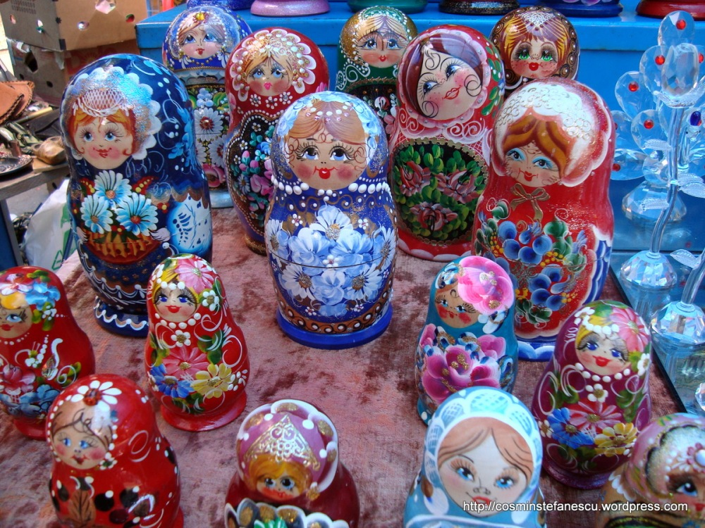 Matrioșca - Într-o piață din Varna - Bulgaria - Foto Cosmin Ștefănescu (2)