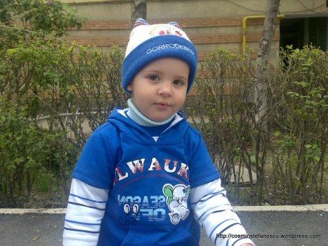 Raul Ștefănescu - nepotul meu - La mulți ani! Foto Cosmin Ștefănescu