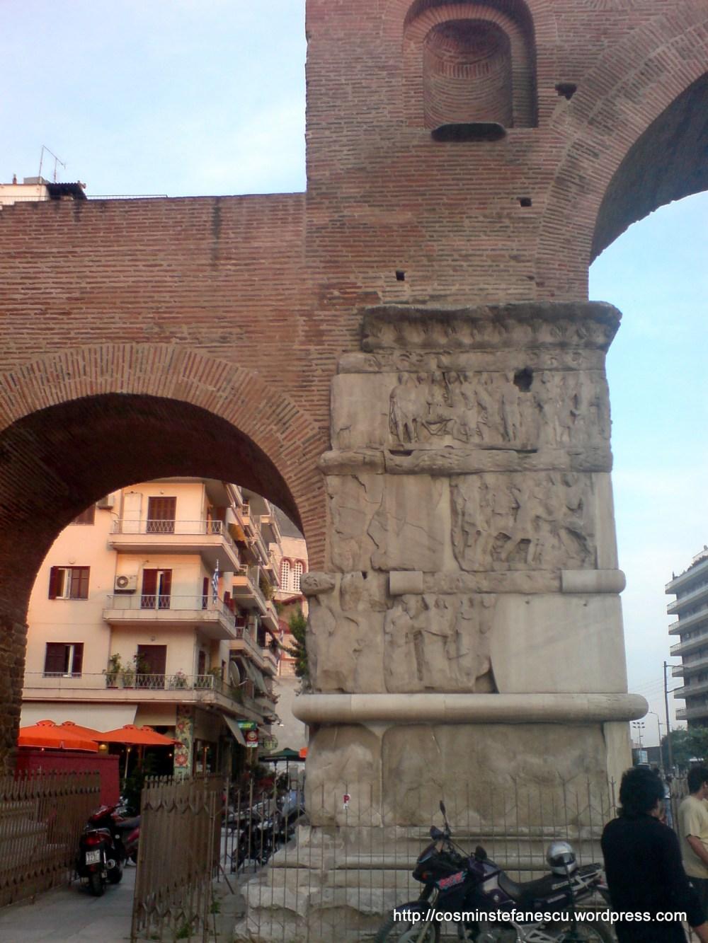Arcul lui Galeriu de la Tesaloniki Grecia - Foto Comin Stefanescu