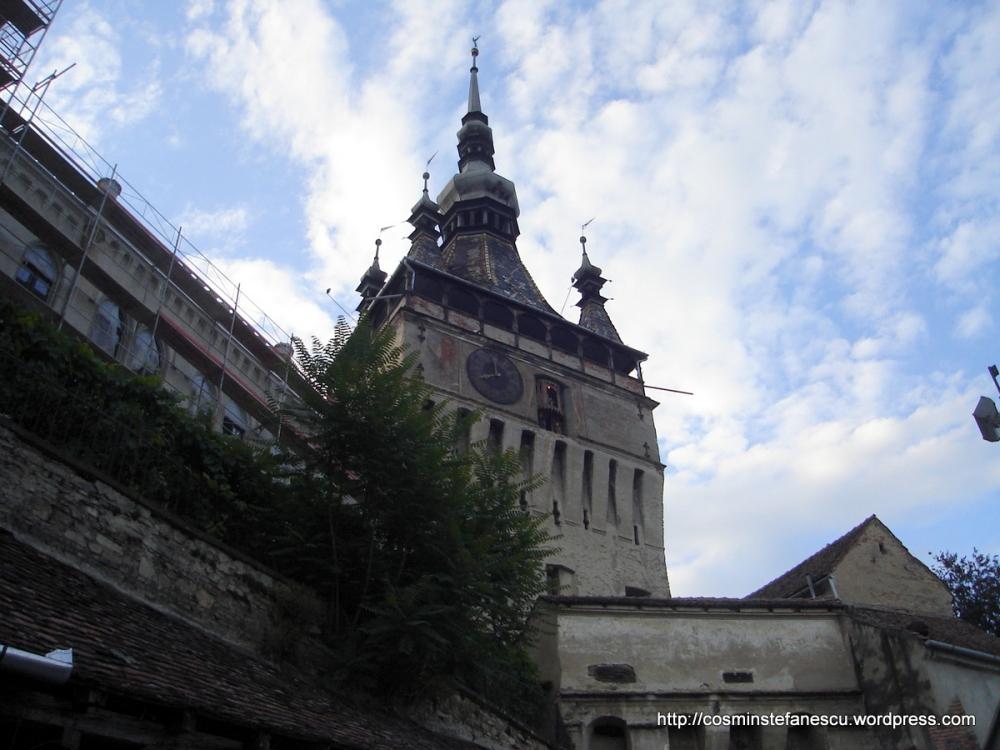 Sighisoara - Turnul cu ceas - Foto Cosmin Ștefănescu