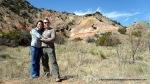 Canyon Palo Duro - Amarillo Texas - Eu si prietenii mei - Stefan si Cosi - Foto Cosmin Stefanescu (februarie 2011)