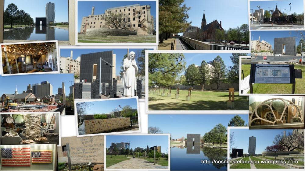 OKLAHOMA CITY NATIONAL MEMORIAL & MUSEUM - Colaj executat cu programul picasa - Cosmin Stefanescu