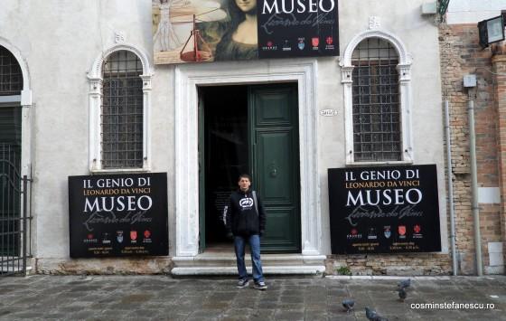 In vizita la Muzeul Leonardo da Vinci din Venetia - 29.12.2011