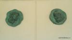 Efigii ale celor doi conducatori Decebal si Traian la intrarea in muzeu - Adamclisi, Romania (1)