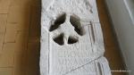 Lespede funerara distrusa in parte de maini criminale, probabil reprezentanti ai curentului New Age - Muzeul Tropaeum Traiani - Adamclisi, Romania (3)