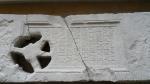 Lespede funerara distrusa in parte de maini criminale, probabil reprezentanti ai curentului New Age - Muzeul Tropaeum Traiani - Adamclisi, Romania (4)
