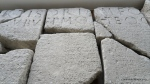 Lespezi si stele funerara descoperite in localitatea Adamclisi expuse la Muzeul Tropaeum Traiani (6)