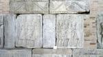 Metopa Nr. XLIII Stegari prezentand drapelele imparatului -Muzeul Tropaeum Traiani - Adamclisi, Romania (1)