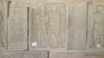 Metopa Nr. XLVIII - Prizonier german tinut in lant de un soldat roman - Muzeul Tropaeum Traiani - Adamclisi, Romania - Foto Cosmin Stefanescu (1)