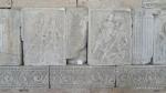 Metopa Nr. XVII - Lupta dintre un roman si un dac - Muzeul Tropaeum Traiani - Adamclisi, Judetul Constanta - Romania (1)