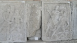 Metopa Nr. XVII - Lupta dintre un roman si un dac - Muzeul Tropaeum Traiani - Adamclisi, Judetul Constanta - Romania (3)
