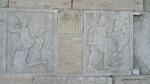 Metopa Nr. XXII - Ostasi romani in lupta cu adversarii - Muzeul Tropaeum Traiani - Adamclisi, Judetul Constanta - Romania  (1)