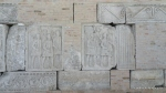 Metope si brau ornamentat format din frize(superioare si inferioare) - Muzeul Tropaeum Traiani - Adamclisi, Romania - Foto - Cosmin Stefanescu (9)