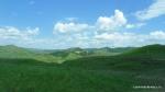 Peisaj din zona Vulcanii noroiosi - Paclele Mari si Paclele mici - Berca, Buzau