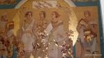 Pictura care reprezinta cetateni romani - Muzeul Tropaeum Traiani - Adamclisi, Romania