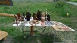 Suveniruri ale unor artisti plastici locali (hand-made) - Paclele Mari, Buzau (2)