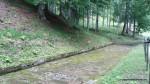 Drumul pavat cu lespezi de calcar  - Sarmisegetusa Regia,  Orastioara de sus, Muntii Sureanu, Hunedoara, Romania - Fotografii relizate de Henry Cosmin Florentin Stefanescu  (5)